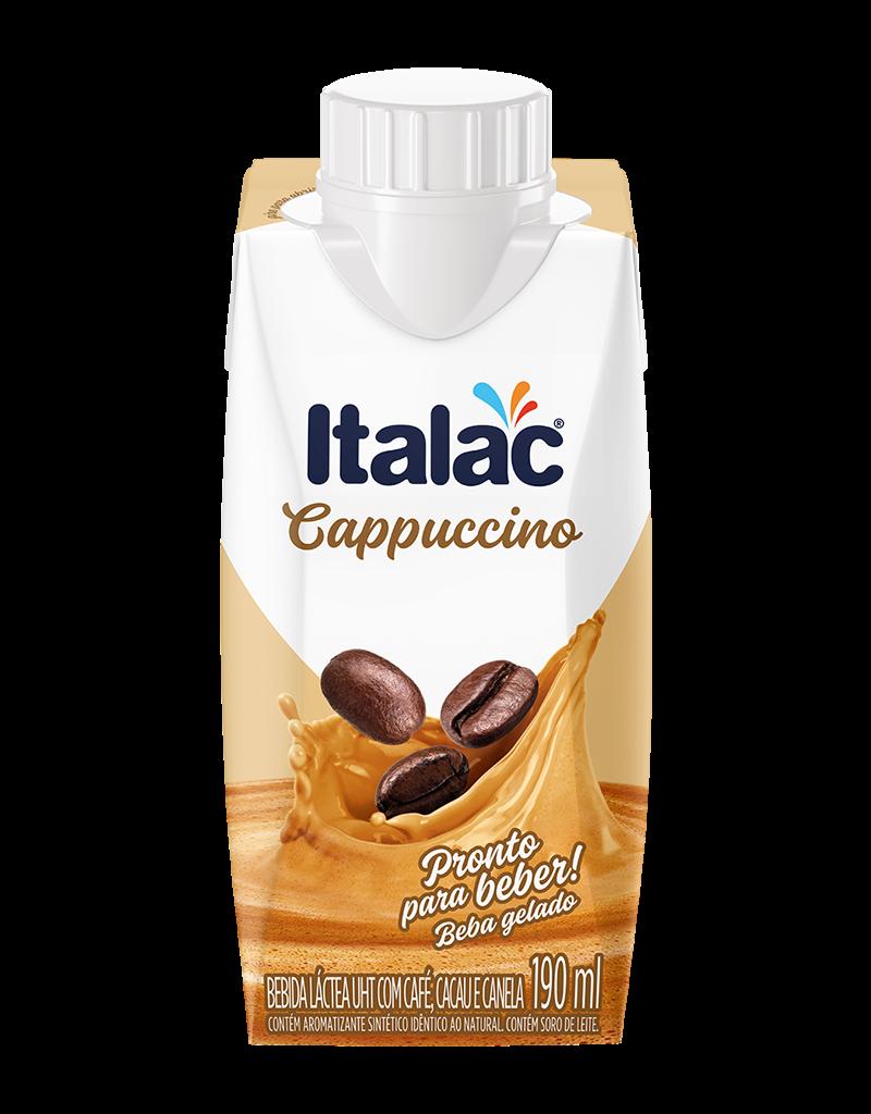 Bebida Láctea UHT com Café, Cacau e Canela 190ml